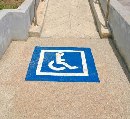 Accessibilité handicapé Falaise, Villers-Canivet