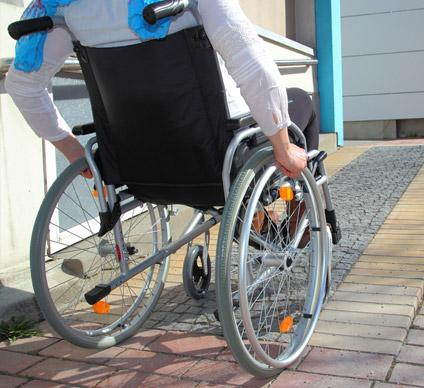 Accessibilité handicapé Caen