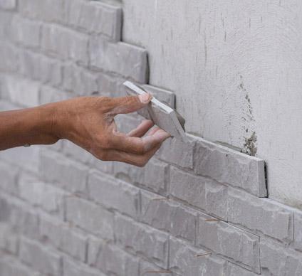 Rénovation de mur en pierre Falaise, Villers-Canivet